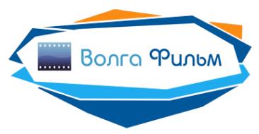 Логотип компании Волга-фильм