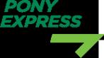 Логотип компании PONY EXPRESS